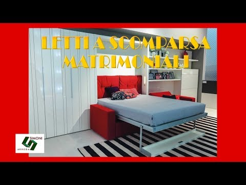 LETTI A SCOMPARSA  MATRIMONIALI - YouTube