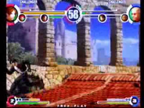 King Of Fighters XI Set - PoongKo (Kyo/Gato/Iori) vs ??? (Duck/Kyo/Oswald)