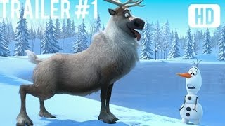 Frozen Official Trailer #1 Full HD Movie Teaser Exclusive 2014
