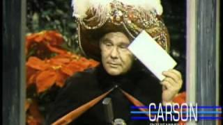 Johnny Carson: Ed McMahon Teases Carnac, 1972
