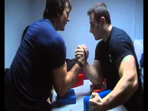 Devon Larratt and Krasimir Kostadinov - Practice
