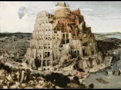 The Tower of Babel *  Pieter Bruegel the Elder (Video Art)