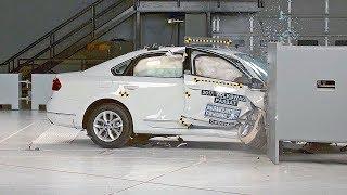 Volkswagen Passat (2017) IIHS Crash Test. YouCar Car Reviews.