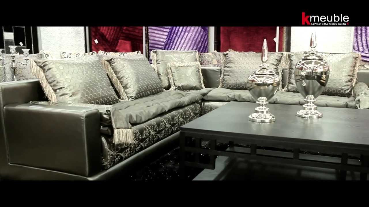 salon marocain k meuble specialiste du salon oriental sur mesure youtube. Black Bedroom Furniture Sets. Home Design Ideas