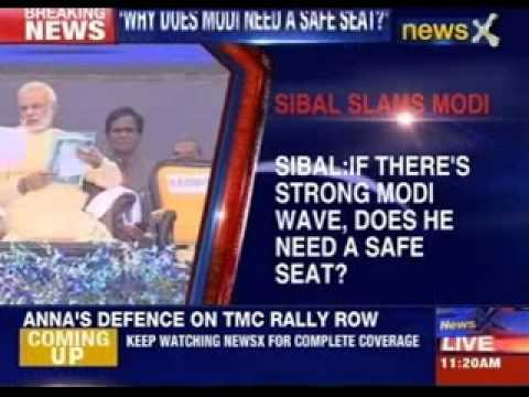 Kapil Sibal slams Narendra Modi over seat row