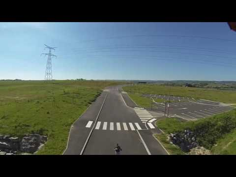 Drone Traxxas Aton fly and GoPro 3 720p iphone 4s