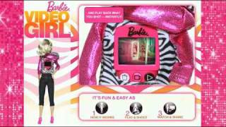 2010 Barbie Video Girl Doll Demonstration