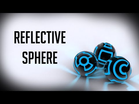 Cinema 4D Tutorial ::Reflective Sphere:: GATutorial