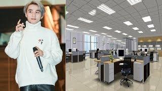 Nhìn văn phòng công ty mới của Sơn Tùng ai cũng muốn đến xin việc [tin tức trong ngày]