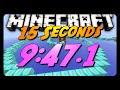 Minecraft Parkour | 15 Seconds Race w/ Sethbling! | 9:47.1