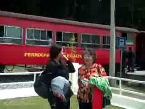 Jairenis on Ecuador Tourism Train  Dec. 31, 2013