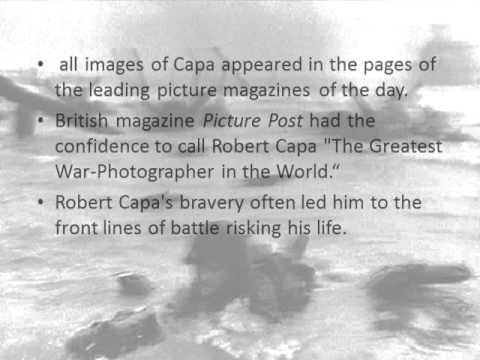 Presentation on Robert Capa 1