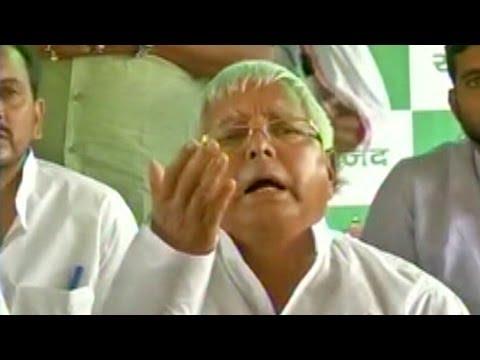 Lalu Prasad Yadav refuses to congratulate Narendra Modi