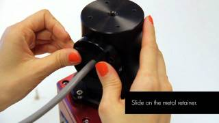 Installing the Ladybug3 360° Spherical Camera on the Tripod Mount Adapter