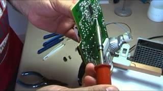 Recuperación de componentes electrónicos de una tarjeta