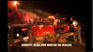 Acidente deixa dois mortos na BR 262 em Realeza