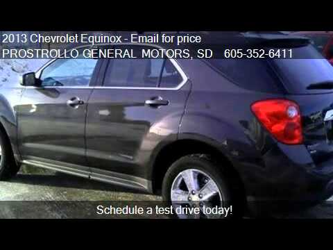 2013 Chevrolet Equinox 2LT for sale in Huron, SD 57350 at PR