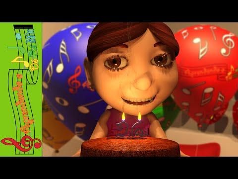 Parabéns a Você (Cantiga Popular Infantil - Aprendendo o Dó Ré Mi)