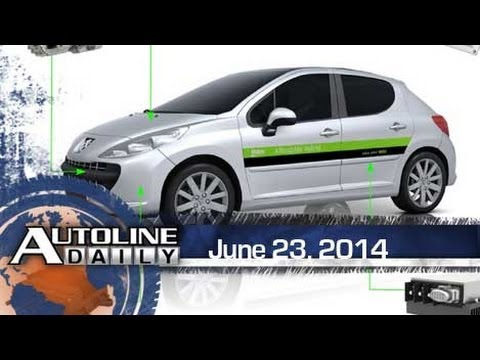 Cost of Diesels & Hybrids to Drop a Lot - Autoline Daily 1403