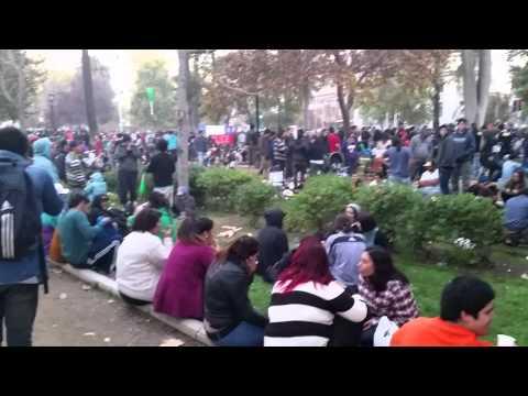 Legalize Marijuana Rally in Santiago, Chile Pt 2