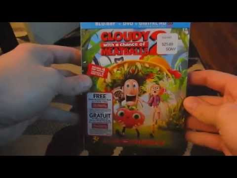 Cloudy With A Chance Of Meatballs 2 On Blu Ray/DVD And Digital HD
