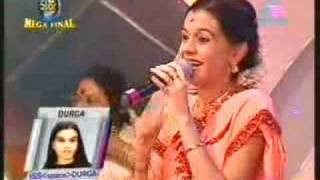 "Idea Star Singer Mega final Durga singing ""Murukha..."""