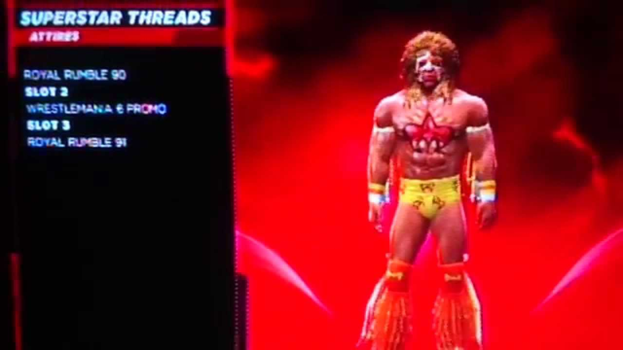 WWE 2K14 Ultimate Warrior Superstar - 45.8KB