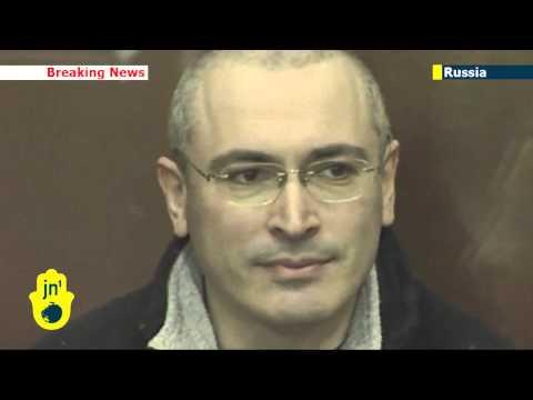Putin signs decree pardoning Mikhail Khodorkovsky