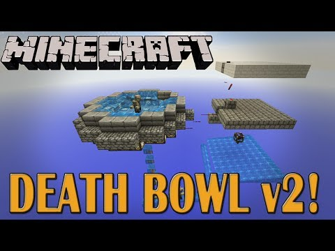 Death Bowl Version 2!  Minecraft Mob Trap (Tutorial)