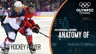Anatomy of an Ice Hockey Player: the Strength and Recovery of Jenn Wakefield