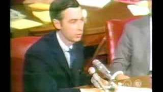 Mr. Rogers' 6-minute $20 Million Presentation To The U.S
