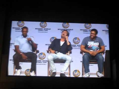 Sebastian Stan & Anthony Mackie at 2014 Philly Comic Con