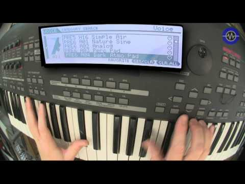 Yamaha MoX6 Sounds -Sonic LAB