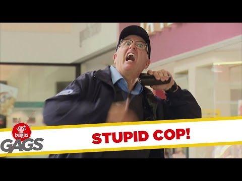 Stupid Cop Tasers Himself