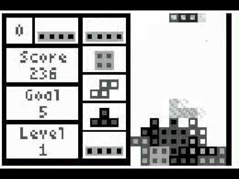 tetris game on calculators