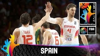 Spain - Tournament Highlights - 2014 FIBA Basketball World Cup