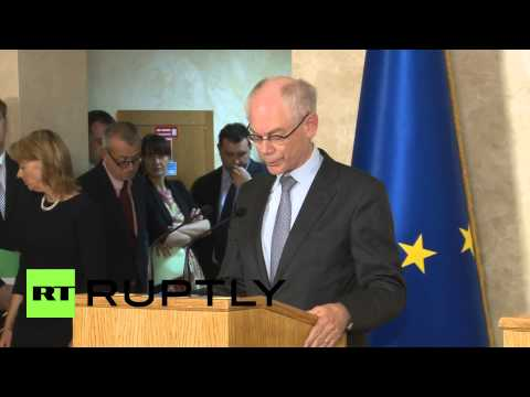 Ukraine: European Union will not recognise referenda, says Van Rompuy