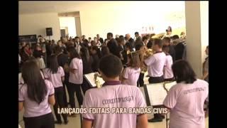 Lan�ado editais para bandas civis em Minas