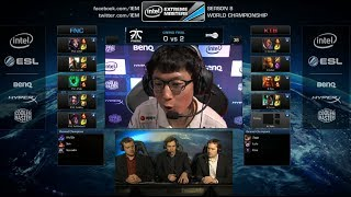 Fnatic Vs KT Rolster Bullets Game 3 Grand Finals IEM