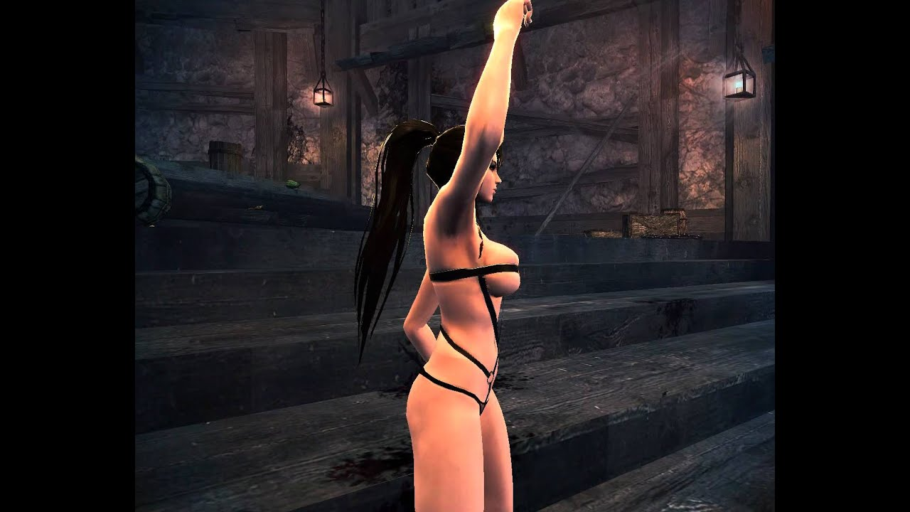 Vindictus nude girl naked scenes