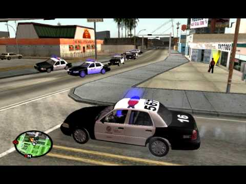 What Would Happen If I Played GTA Like Real LAPD? - GTA SA