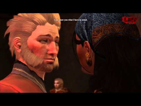 Dragon Age 2 - Isabela First Romance Scene