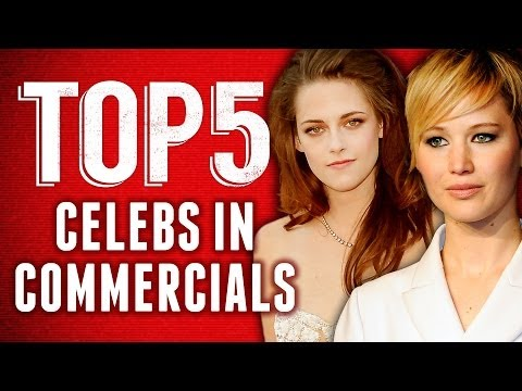 Jennifer Lawrence & Kristen Stewart Before They Were Stars - Best Celeb Commercials Top 5 Fridays