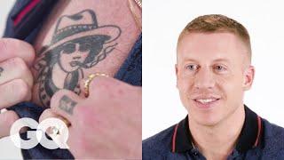 Macklemore Tells the Stories Behind His Favorite Tattoos   Tattoo Tour   GQ