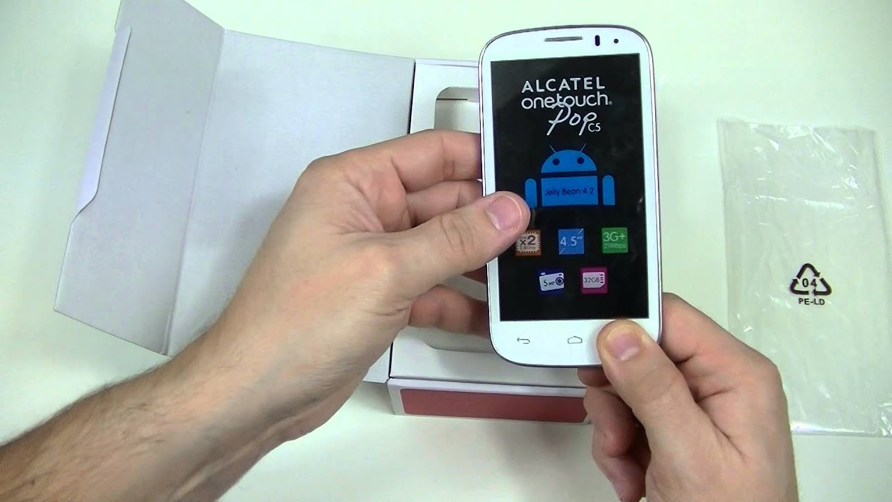 Как сделать скриншот экрана смартфона Alcatel One Touch? 67