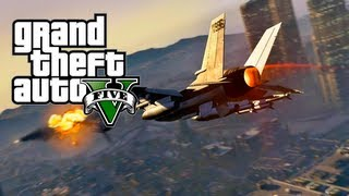 "GTA 5 Online: How To Get The Military ""Fighter Jet"" From"