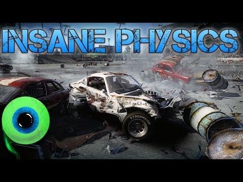 Next Car Game | INSANE PHYSICS | Impressive car destruction tech demo