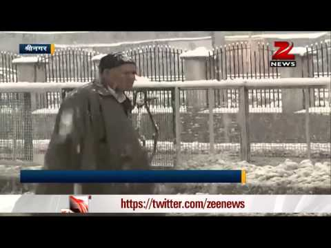 North India receives more rain, fresh snowfall in Kashmir valley
