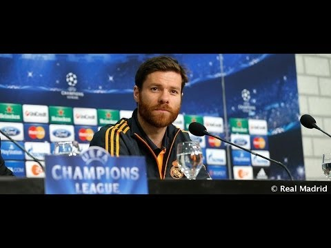 FC Schalke 04-Real Madrid: Conferencia de prensa de Xabi Alonso
