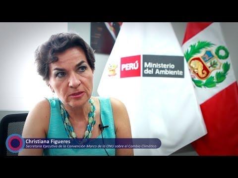 Christiana Figueres sobre la COP20 en Perú